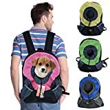 Ondoing Pet Carrier Backpack Dog Travel Bag Pet front Carrier Bag Mesh Backpack Head out Carrier Double Shouder Bags for Small Dogs, Medium,Pink