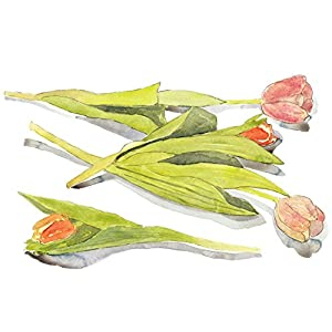 Watercolor Giclee Tulips 1 - Fine Art Print 3