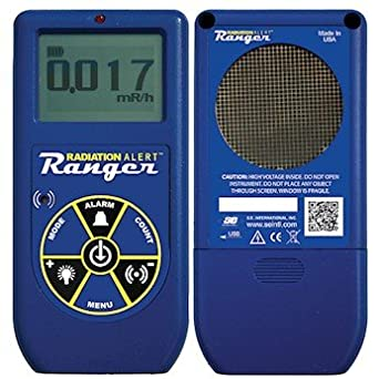 Radiation Alert Ranger Digital Radiation Meter with Internal ...