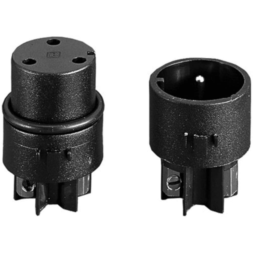 Mini Buccaneer; Screw Terminal Inserts; IP68; Pin; 2 Poles; Nickel PLTD Contcts, Pack of 5