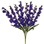 Kampoojoo-Purple-Gladiolus-Bush-26-Tall-Decor-Wedding-Silk-Flowers-Centerpieces