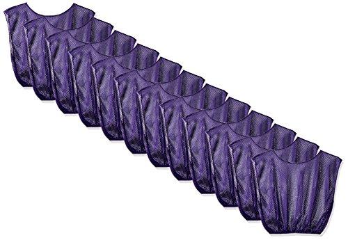 Champion Sports Adult Practice Scrimmage Vest, Purple Purple Mesh Vest