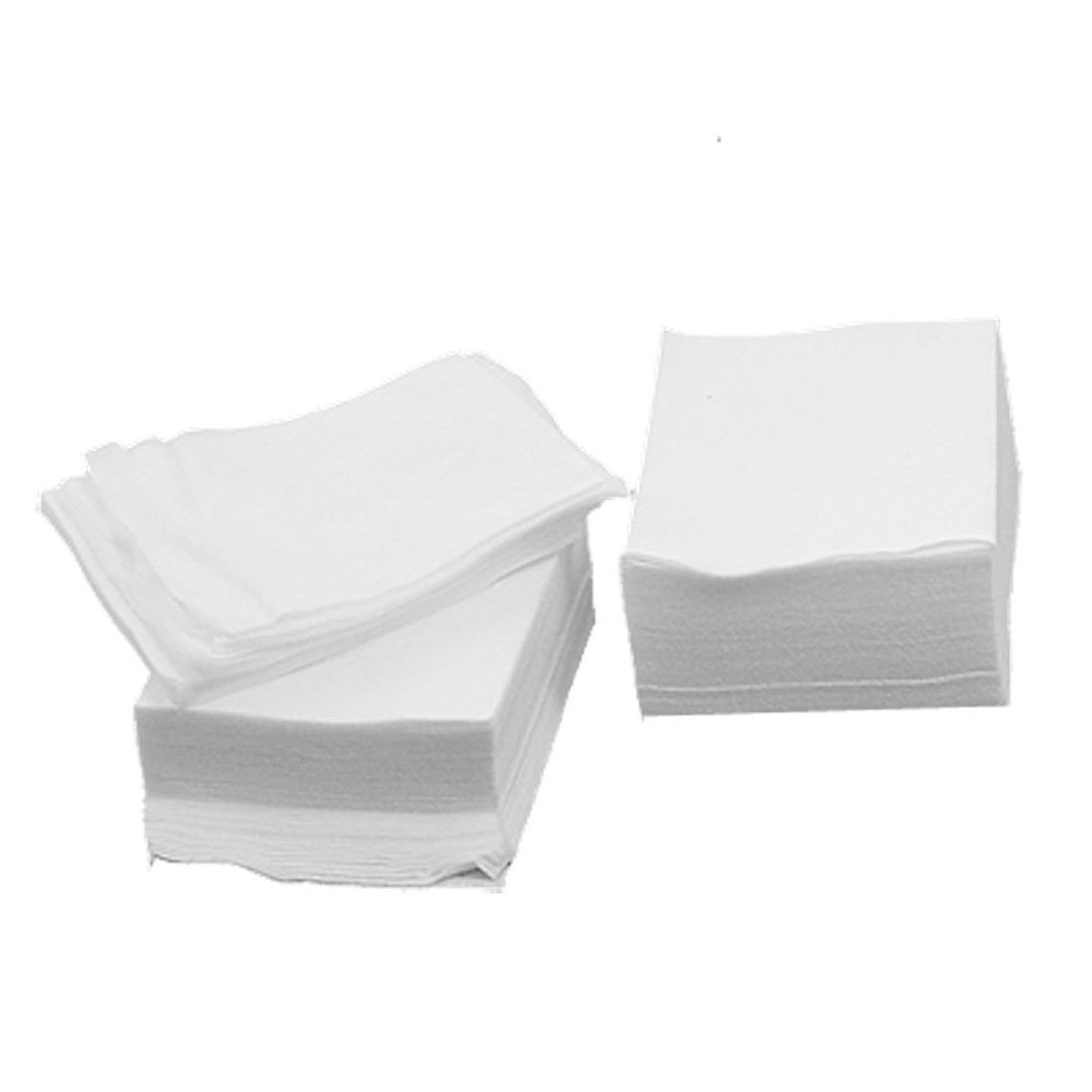 SODIAL(R) White Rectangle Facial Cotton Pads 200 Pcs for Make Up 006949