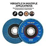 """Neiko 11120A Premium Zirconia Flap Disc   4.5"""" x"""