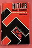 img - for Hitler--Memoirs of a Confidant book / textbook / text book