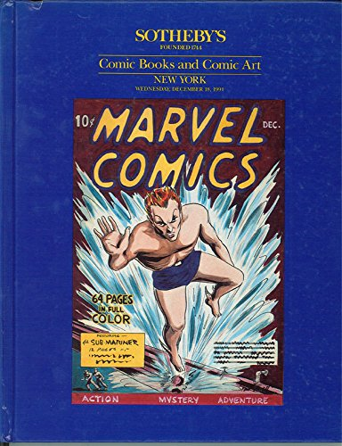 Sotheby's / Comic Books and Comic Art / New