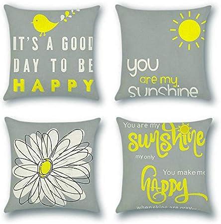 US Vendeur-art mexicain Fleur Design Housse de coussin à fermeture éclair Throw Pillow Covers