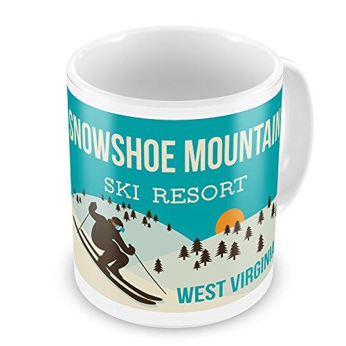 Coffee Mug Snowshoe Mountain Ski Resort   West Virginia Ski Resort   Neonblond