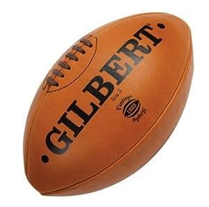 Gilbert Leder Vintage Rugby Ball Gr.5