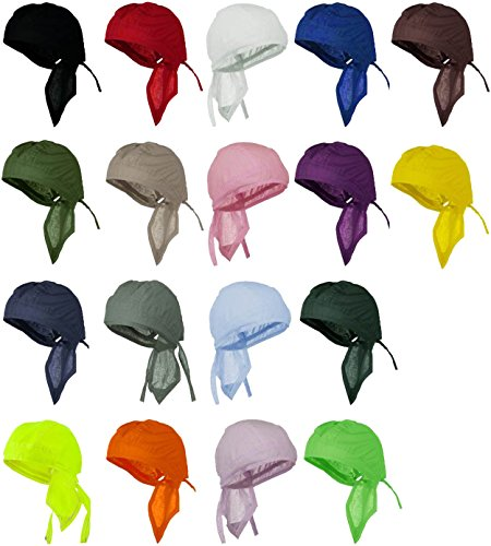 doo-rag-12-pack-of-head-wraps-motorcycle-hats-bandana-skull-caps