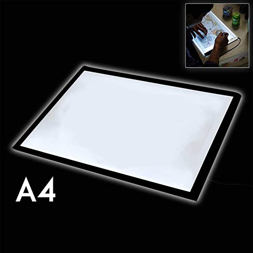 Cuaderno de luz A4 para dibujo, trazado de luz para arte, mesa de ...