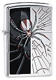 Zippo Spider High Polish Chrome Pocket Lighter