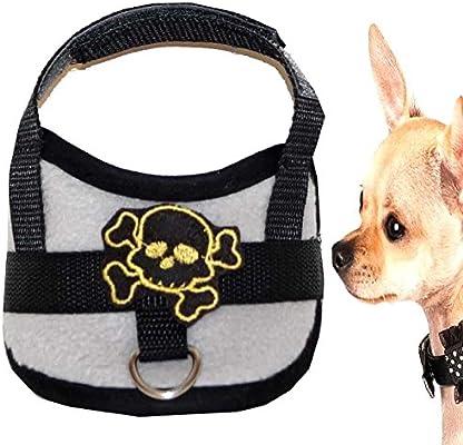Mini Chihuahua cachorros Chihuahua arnés del perro para el pecho ...