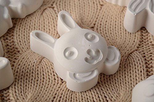 DIY Homemade Plaster Figurine For Painting Hare For Children And Adults