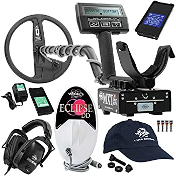 Whites MXT All Pro Detector Bundle, 6x10 Eclipse Coil, Headphones, More