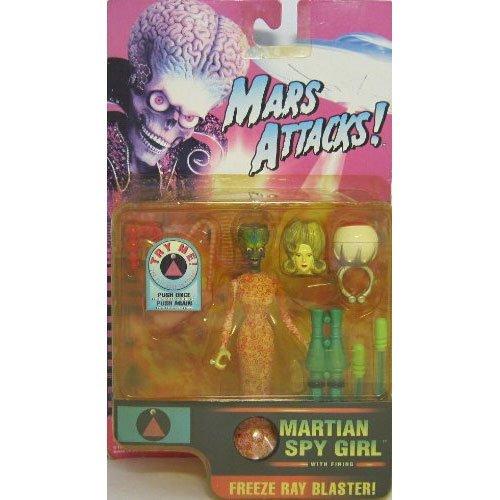*MARS ATTACKS! : FIGURINE MARTIAN SPY GIRL*