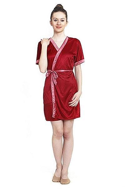 Nityakshi Women s Plain Solid Robe f487abb23