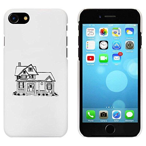 Blanc 'Maison' étui / housse pour iPhone 7 (MC00068670)