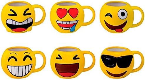 DISOK - Taza Emoticonos - Tazas Emojis, Emoticonos para ...