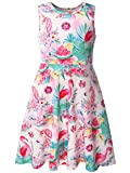 Bonny Billy Big Girls Beach Dresses Summer Clothing for Teens 7-16 Pink