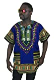 Vipada's Dashiki Shirt African Top Men's Dashiki Navy XS
