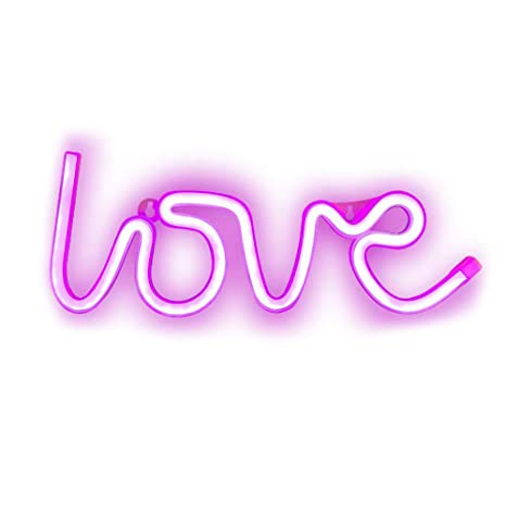 Ambiance Romantique Lumière lampe Veilleuse Love Ruiting Led R54Aq3jL