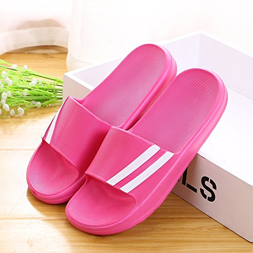 roses slippers Indoor red 37 antiskid 1fq4FgwZ