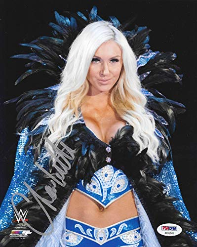 Charlotte Flair Wwe Diva Signed Autograph 8x10 Photo #7 Coa - PSA/DNA Certified - Autographed Wrestling Photos
