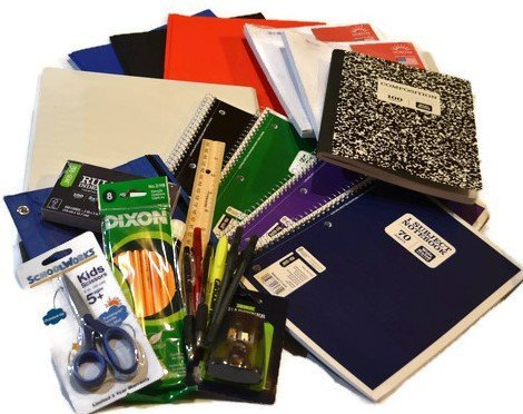 School Essentials Back to School Supplies Bundle - Grades 6-12 by Bundle
