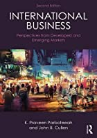 International Business: Perspectives from developed and emerging markets, 2nd Edition Front Cover