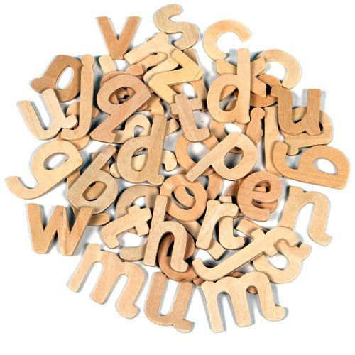 Creation Station Wooden Lower Case Letters ()