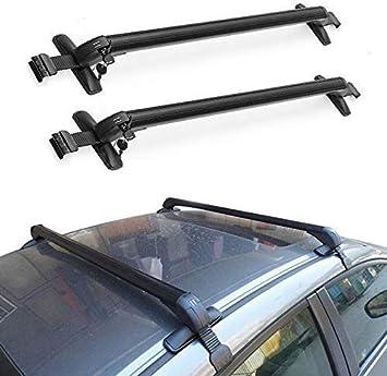 Amazon Com Facaimo Aluminum Car Top Luggage Roof Rack Cross Bar Carrier Adjustable Window Frame Usa 110cm Automotive