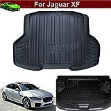 1pcs Luxury Leather Car Boot Mat Boot Tray Rear Trunk Cargo Liner Cargo Mat Cargo Tray Floor Mat Carpet Custom Fit For Jaguar XF 2015 2016 2017 2018