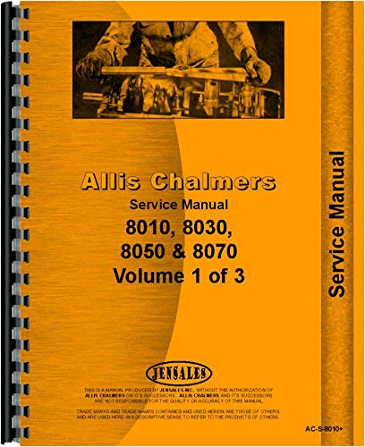 Download Allis Chalmers 8010 Tractor Service Manual pdf