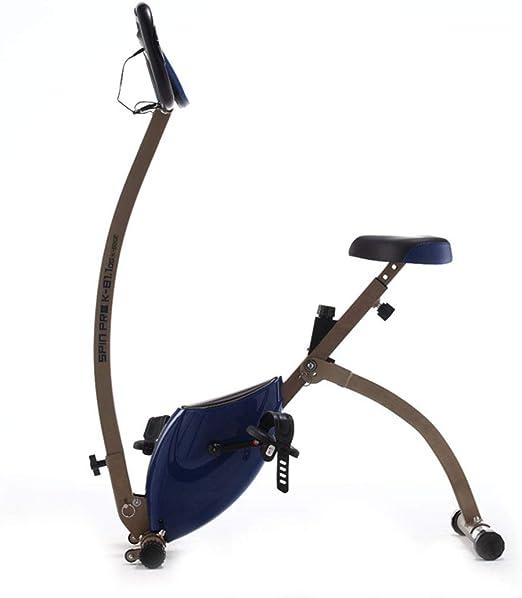 Ciclismo Indoor Bicicleta estática Ejercicio Compacto Plegable ...