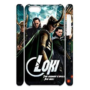 QSWHXN Customized 3D case Thor Loki for iPhone 5C