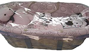 Beansprout Mod Daisy Moses Basket