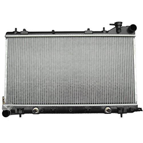 ECCPP New Aluminum Radiator 2674 fits for 2003-2008 Subaru Forester X H4 2.5L