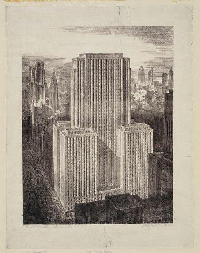 Photo: Field Building,Chicago,Illinois,IL,Skyscraper,LaSalle National Bank Building