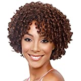 Short Brown Curly Synthetic Wig for Black Women - Best Reviews Guide