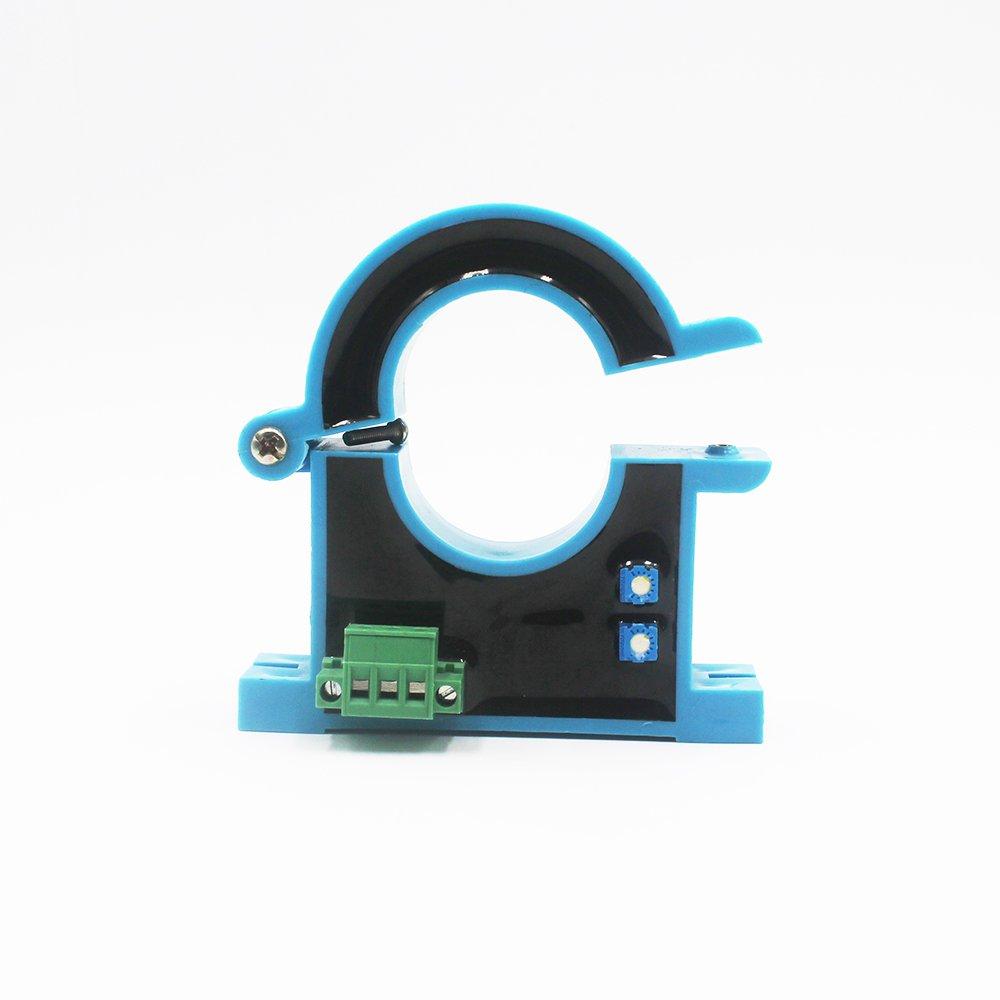 JXK-7 Hall Effect Current Sensor Open Loop Current Transmitter Measuring DC AC and Pulse Currents,Input 0-500A,