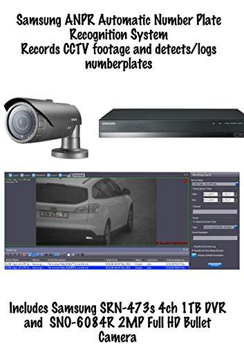 ANPRKIT1 - Samsung ANPR Number Plate Recognition 4CH NVR + 2MP Bullet Camera