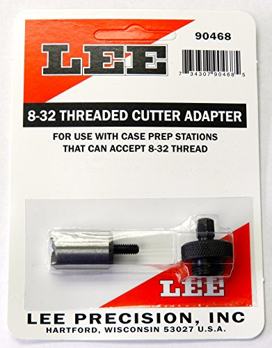 Lee Precision Reloading Large 8-32 Threaded Cutter & Lock Stud Lee Precision Large 8-32 Threaded Cutter & Lock Stud, Silver, Small