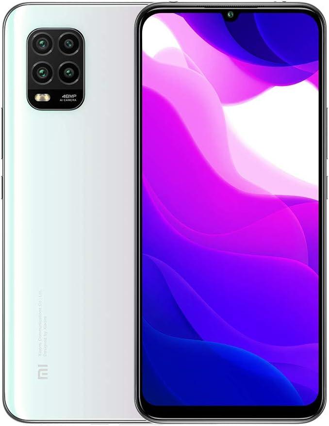 Xiaomi Mi 10 Lite 5G Smartphone 6GB 128GB 6.57'' AMOLED 48MP Quad-cámara 4160mAh (Typical) NFC Blanco [español versión]