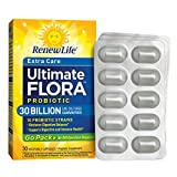 Renew Life – Ultimate Flora Probiotic Extra Care – 30 billion – 30 vegetable capsules – Go Pack Review
