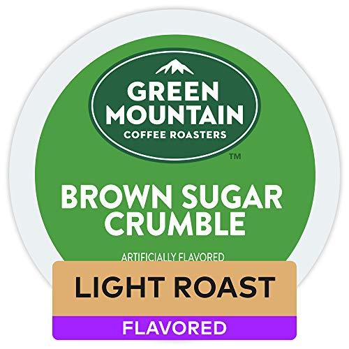 Green Mountain Coffee Roasters Brown Sugar Crumble, Single Serve Coffee K-Cup Pod, Flavored Coffee, 72 ()
