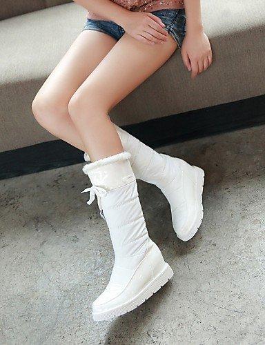 5 Uk8 5 Cn40 Plataforma us8 Xzz us10 Eu39 5 La White De Casual Semicuero Eu42 Botas Zapatos Redonda Mujer Cn43 Patentado Cuero A Vestido Eu4 5 White Nieve Punta Moda Uk6 11RwqCAx