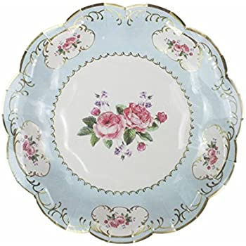 Talking Tables Truly Chintz Paper Plates 18cm (12 pack in 4 designs)  sc 1 st  Amazon.com & Amazon.com: Talking Tables Truly Scrumptious Vintage Floral Small ...