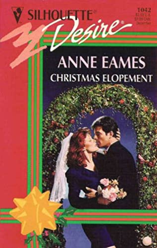book cover of Christmas Elopement