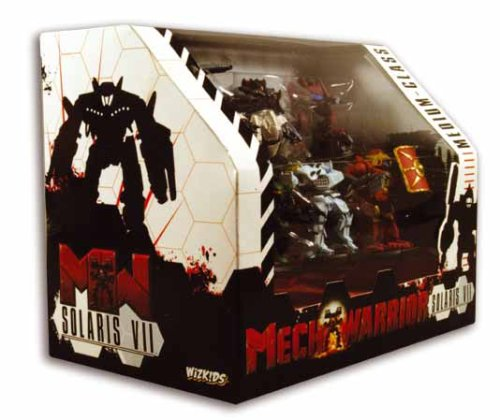 Wizkids WZK2309 Mechwarrior: Solaris VII Medium-Class Action Pack